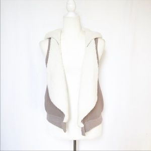 Splendid Soft Hooded Vest Small